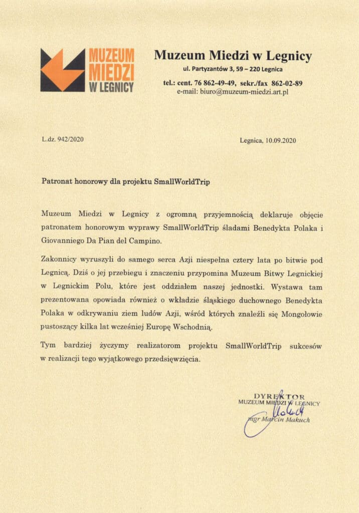 honorary patronage copper museum of legnica